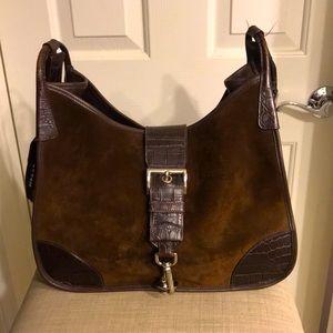 PRADA Brown suede Bag